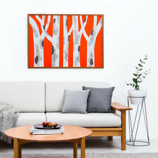 NEW Spotted Gum Orange Pop – Limited Edtion Silkscreen Print by Roofus Aus