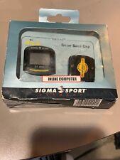 Sigma Sport Inline Computer Speedometer Rollerblade Rollerskate Fitness Fun