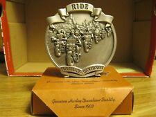 Harley-Davidson Ride Pewter Medallion..New...Part number 96937-04V
