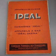 Katalog Les Cuisinieres Ideal -Herde Kochmaschinen 1937 (40702)