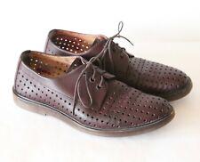 A.P.C. Rue Madame Paris APC Hugo Perforated Derby Leather Shoes 40 US 7