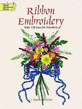 Ribbon Embroidery Transfers by J. Marsha Michler (Paperback, 1997)