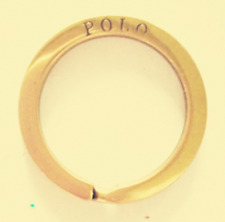 Genuine Polo PRL 100% Solid Brass Shine Polished Key Ring Key Holder Accessory