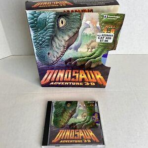 Dinosaur Adventure 3-D (PC CD-ROM, 1999) Windows/Mac - Excellent Condition V2