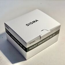 Brand New SIGMA MC-21 SA-L Mount Converter Sigma for Lumix S1 & S1H Body