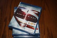 Man of Steel (Blu-ray Disc, 2016, 2-Disc Set) Brand New Superman