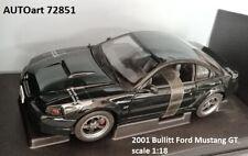 AUTOart 72851 2001 Bullitt Ford Mustang GT 1:18