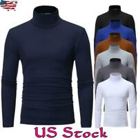 Men Fit Long Sleeve Slim Gym Muscle Basic T-shirt Tee Shirt Tops Casual Blouse