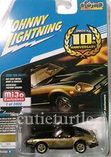 Johnny Lightning 1980 Datsun Nissan 280Z 280ZX 1:64 10 Anniversary JLCP7007 Gold