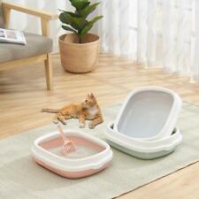 Pet Toilet Cat Litter Box with Scoop Anti-Splash Dog Plastic Toilet Pet Supplies