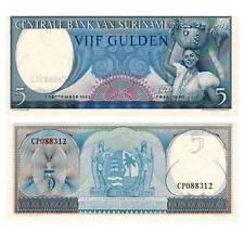 Pick 120b  Surinam / Suriname 5 Gulden 1963 Unc. / 9211372vvv