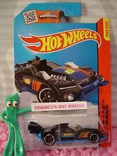 Case L/M 2015 i Hot Wheels GT HUNTER #130 ∞black/Blue; 6 ∞Race Team∞New