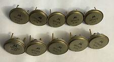 Motorola Vintage NOS SP1423 Gold-Lead Transistors!  Qty.10!