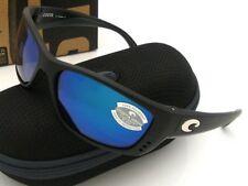 NEW Costa Del Mar FISCH Black & 580 Blue Mirror Glass 580G