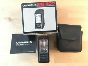 OLYMPUS PS 200 QUICK FLASH, soft case, box and instructions
