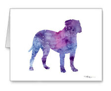 Bullmastiff Note Cards With Envelopes