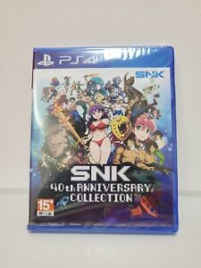 PS4 40th Anniversary SNK Collection Asian Version Eng Language New