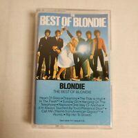 The Best Of Blondie Cassette Tape 1981 Chrysalis F4 21337