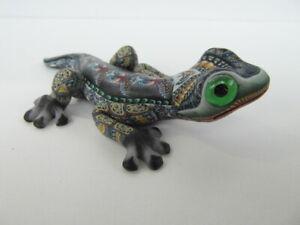 Fimo Clay Millifiori Animal sculpture by Jon Anderson - small Gecko