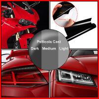 Pellicola Adesiva Fari Stop Autovetture Scegli Tra Nero Light / Medium / Dark