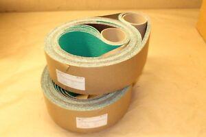 3M Industrial Cloth Belts 577F, 4 in X 132 in, 36, Alumina Zir 67604 Qnt: 10