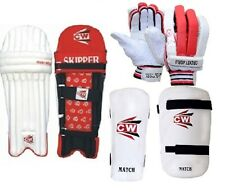 Max Cricket Batting Pads Gloves Arm Guard Thigh Protector Pad Full Size Adult