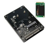 """mSATA to 2.5"""" IDE HDD SSD mSATA to PATA Adapter Converter Card 44PIN with Case"""