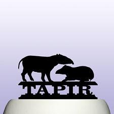 Acrylic Tapir Birthday Cake Topper Decoration