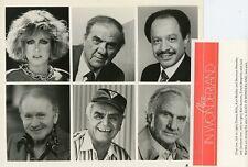 DONNA MILLS RED BUTTONS KARL MALDEN ALICE IN WONDERLAND CAST 1985 CBS TV PHOTO