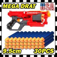 Blue Refill Foam Bullet Darts for Nerf N-Strike Elite Mega Centurion Toys Gun U