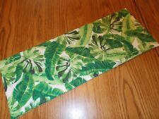 Tropical palm leaf decor MINI table runner Toilet Tank Topper handmade leaves