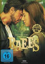 RAEES - Bollywood Film DVD - Shahruk Khan, Mahira Khan - Erstauflage mit Poster!