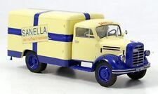 """Camion Borgward B 2500 Fourgon tole """"sanella"""" 1/43 Schuco 1/1500"""