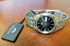 Orient FAB00009b9 Men's 3 Star Stainless Steel black Dial Automatic Watch