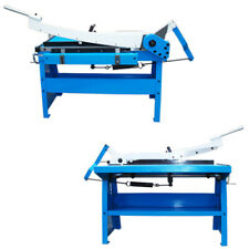 40 X 20 Gauge Guillotine Shear Sheet Metal Plate Cutting Cutter With Table Bench