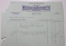1930 Lamson Goodnow Joesting Schilling Saint Paul MN Debit Memo Ephemera L926E