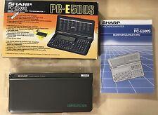 Sharp Pocket Computer pc-e500s 256 KB en OVP, estado de coleccionista, Basic Calculator