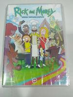 Rick And Morty Seconda Stagione 2 Completa - DVD Spagnolo Inglese Nuovo