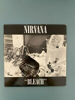 "Nirvana ‎– Bleach 12"" Vinyl 1989 U.K Press VERY RARE NM!!"
