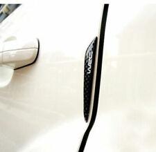 Fibre De Carbone Noir 4pcs voiture Auto Side Door Edge Protection Guard Trim Autocollant