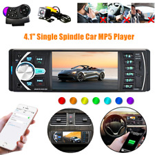 4.1Inch HD Single 1DIN Car Stereo Video MP5 Player Bluetooth FM Radio AUX USB SD
