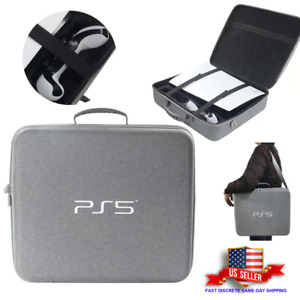 PS5 Travel Case Storage Bag Carrying Backpack Game Console Accessories