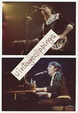 PAUL McCARTNEY Live 2x 1976 candid fan photos linda beatles wings over america