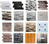 Self adhesive Vinyl floor tiles 3D Self adhesive Mosaic tiles Wall tiles sheets