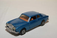 CORGI TOYS 280 ROLLS ROYCE SILVER SHADOW METALLIC BLUE EXCELLENT CONDITION