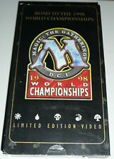 Magic: The Gathering Road to 1998 World Championships VHS Limited Ed FREE DVD