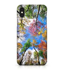 Paradisal Green Sacred Yellow Bliss Orange Colourful Trees Phone Case Cover
