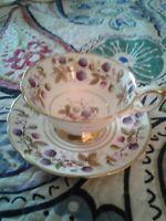 Royal  Stafford GOLDEN BRAMBLE Cup And Saucer BONE CHINA