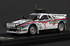 Last One - Lancia 037 Martini #7 - 1984 Safari Rally - HPI #8230 1/43
