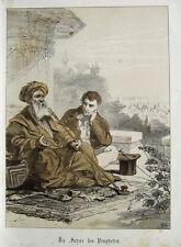 Henry Ritter Prophet Islam Pfeife Minarett Muslim Araber Turban Istanbul Kairo